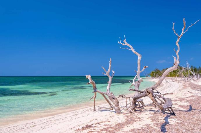 Cayo Levisa beach, Cuba