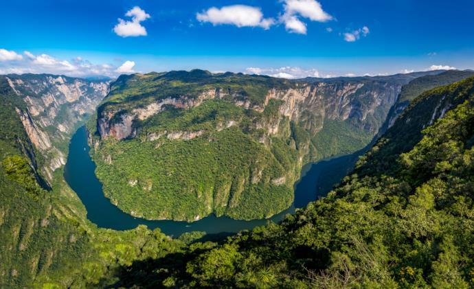 Sumidero Canyon in Mexico.