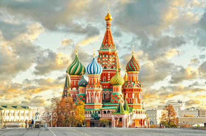 Cathedral of Saint Basil, Moscow, Russia