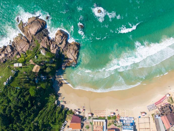 Joaquina Beach in Brazil