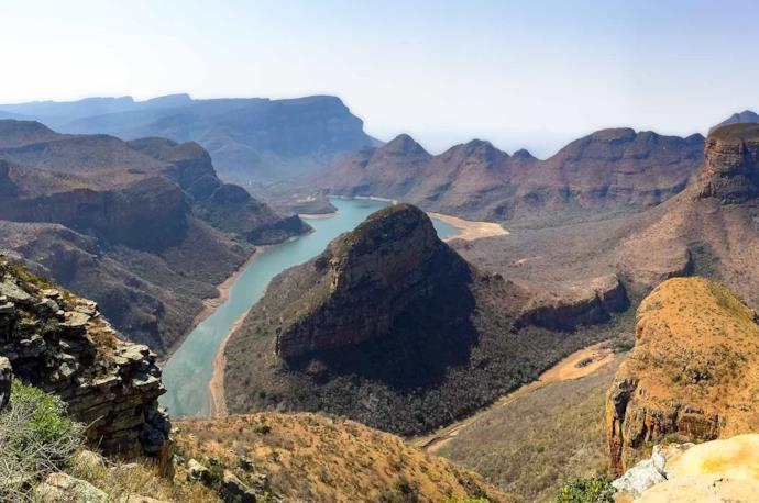 Blyde River Canyon view in South Africa