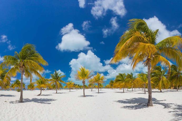 Playa Sirena in Cayo Largo, Cuba