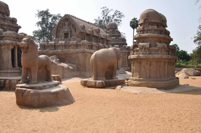 Mamallapuram in Tamil Nadu