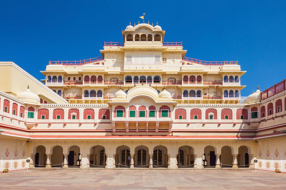 Courtyard of Jaipur City Palace