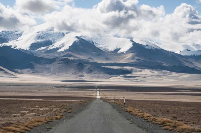 Road in Tajikistan