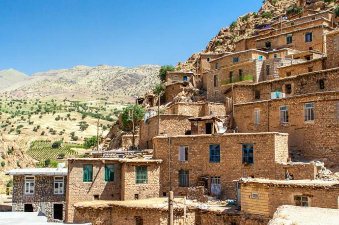 Palangan village, Kurdistan, Iran