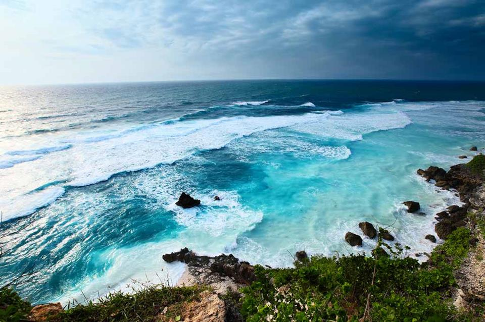Bali beautiful sea