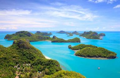 The most beautiful islands in Thailand