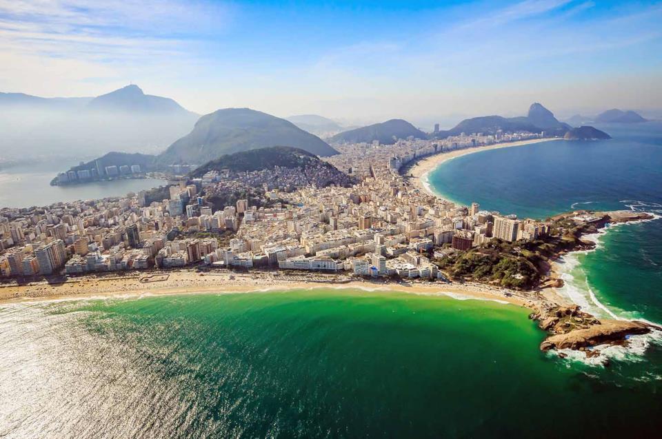 View of Copacabana, Rio de Janeiro, Brazil