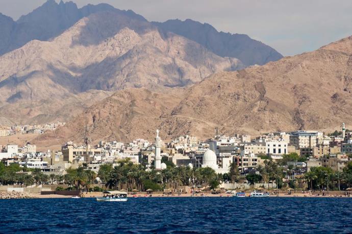 Aqaba in Jordan