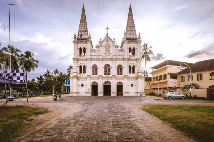 Church of Santa Cruz, Cochin