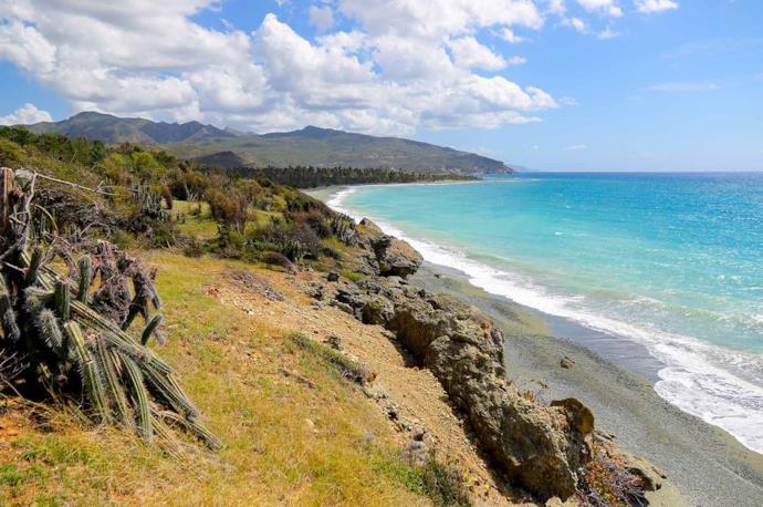 Baracoa beach in Cuba