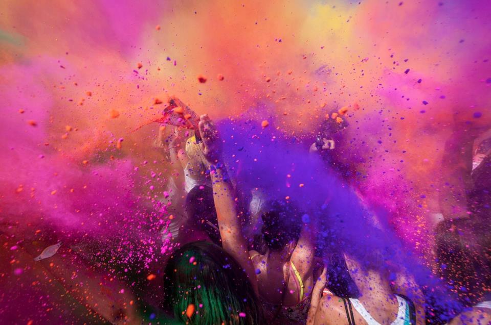 India's color festival