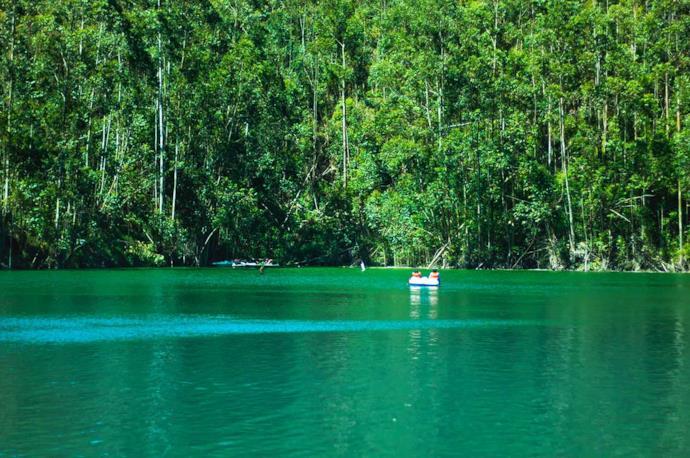 Lake in Munnar