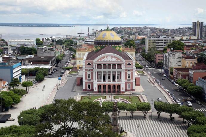 Teatro Amazonas in Manaus, in Brazil