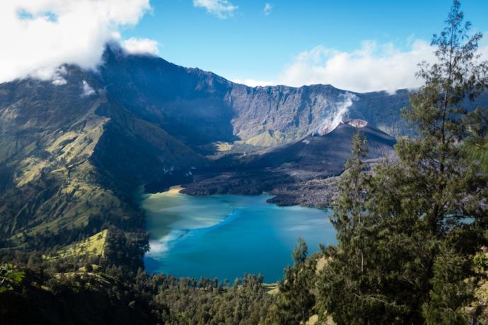 Rinjani Mountain, Lombok, Indonesia