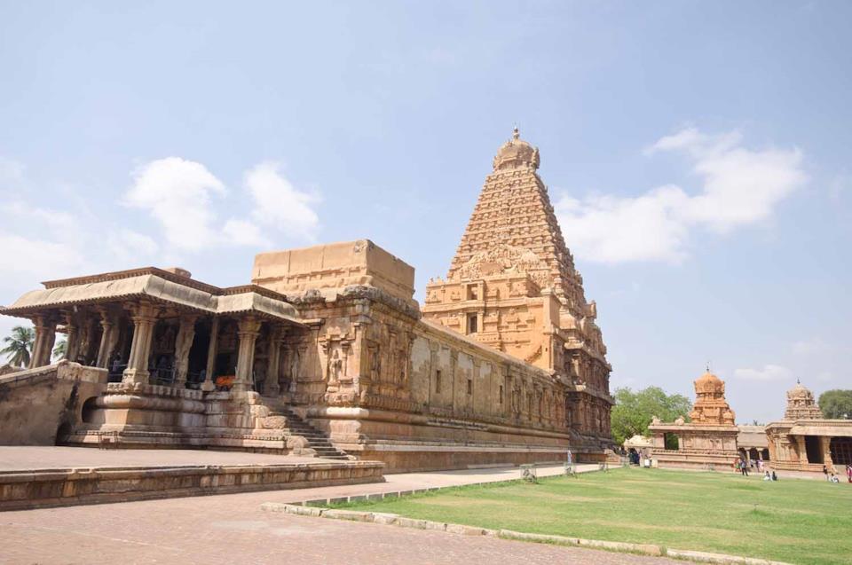 Thanjavu temple in Tamil Nadu