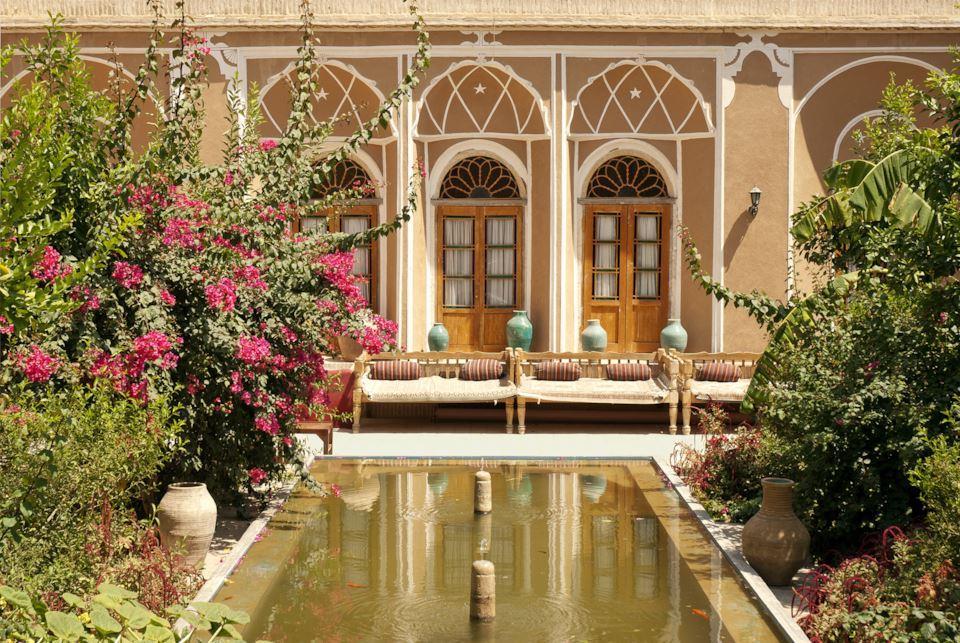 Yazd garden in Iran