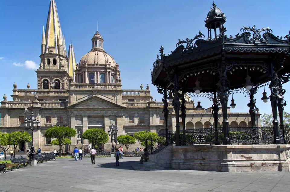 Piazza di Guadalajara in Messico