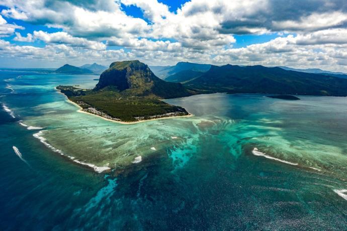 Safari con estensione mare alle Mauritius