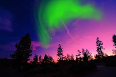 Aurora boreale: dove e quando vederla