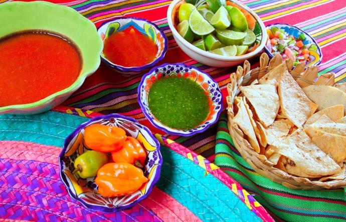 Cibo tipico messicano