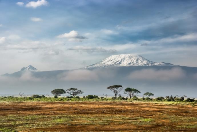 Vetta del Kilimangiaro in Tanzania