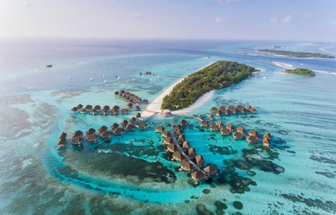 Un resort da sogno alle Maldive