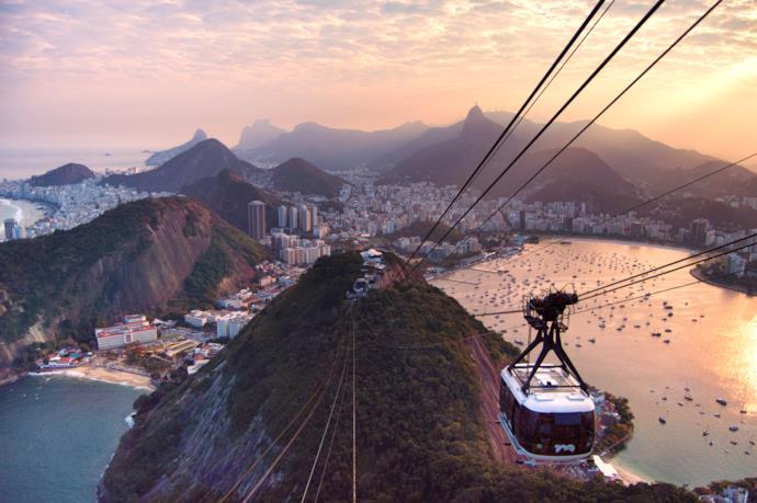 Scorcio di Rio di Janeiro