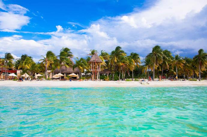 Isla Mujeres, spiaggia in Messico