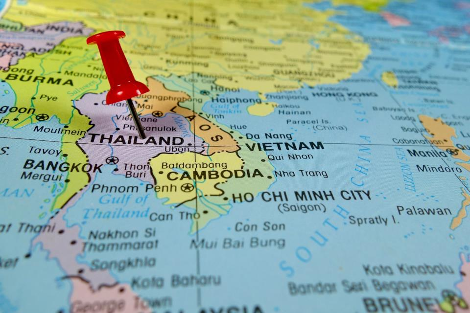 Tra Vietnam E Thailandia Cartina Geografica.Thailandia Geografia E Altre Informazioni Utili