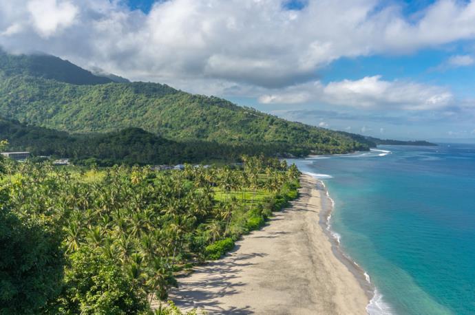 Spiaggia di Lombok in Indonesia per un viaggio da sola