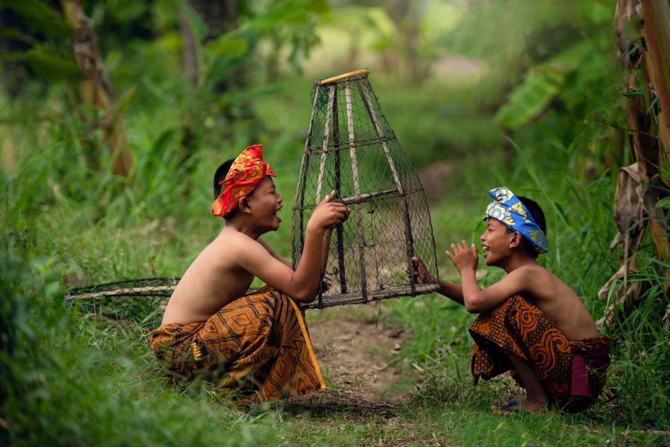Bambini indonesiani