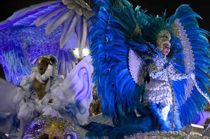 Balli e danze al Carnevale di Rio