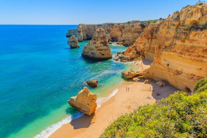 Algarve in Portogallo meta per viaggi da sola