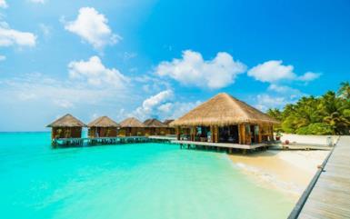 La villa sottacqua alle Maldive