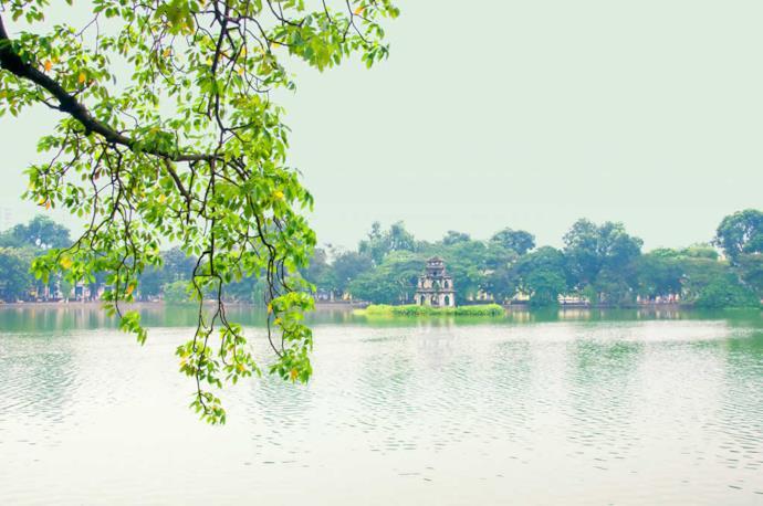 Lago della Spada ad Hanoi, Vietnam