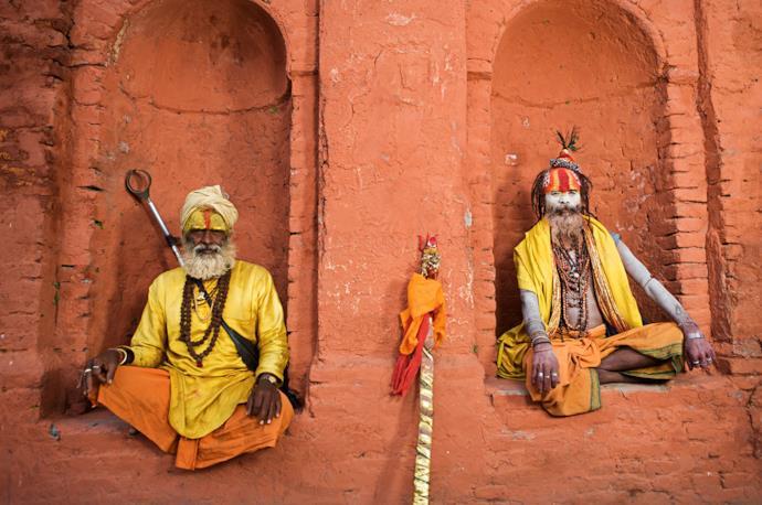 Sadhu in Nepal, meta per viaggiare da sola