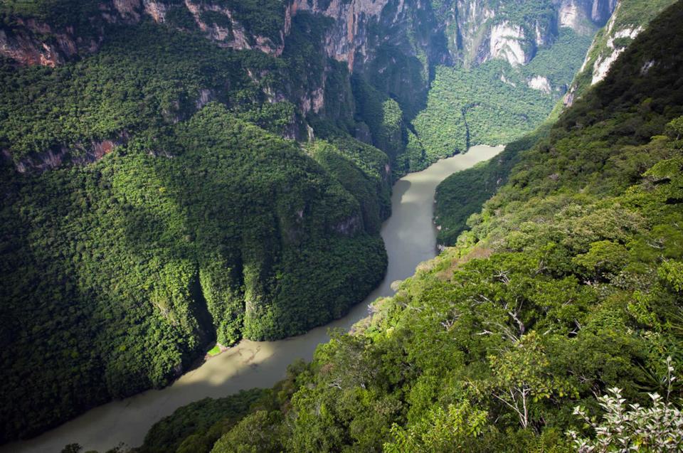 Canyon di Tuxtla Gutierrez, Messico