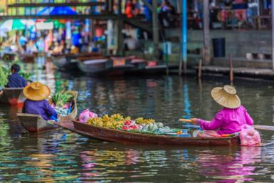 I mercati di Bangkok e della Thailandia
