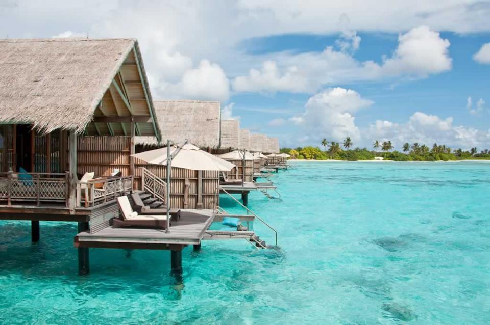 Resort da sogno alle Maldive
