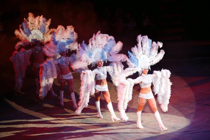 Ballerine al Carnevale di Rio de Janeiro in Brasile