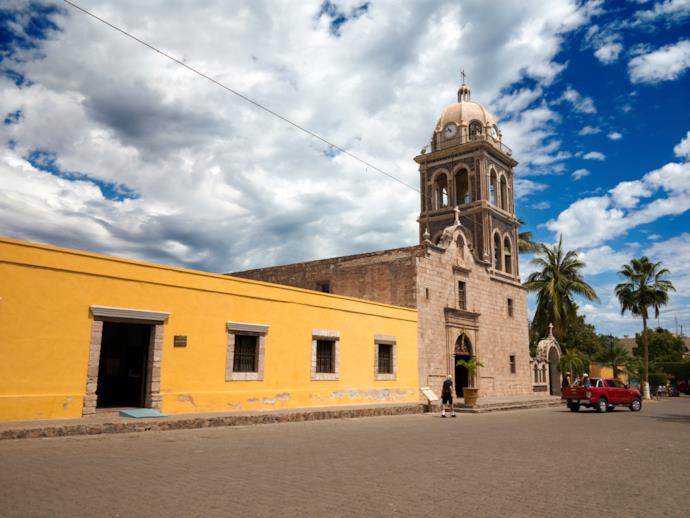 Chiesa della missione, Loreto, Messico