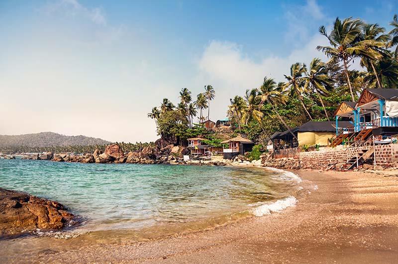 Spiaggia a Goa