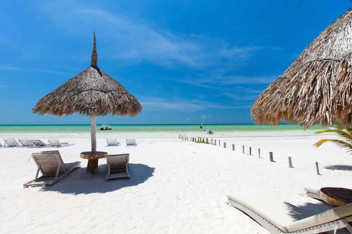 Spiaggia a Holbox, Messico