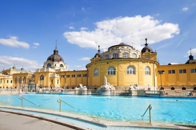Le terme Szecheny a Budapest, Ungheria