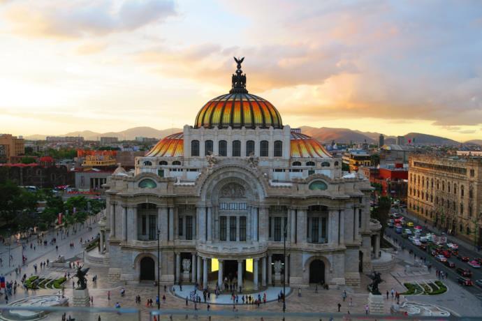 Città del Messico, Palazzo delle belle arti