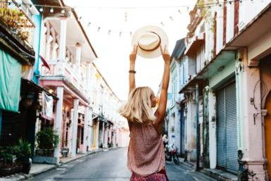 Le 5 migliori destinazioni per donne che viaggiano da sole