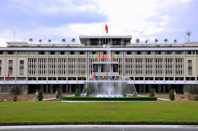 Palazzo della Riunificazione a Saigon, Vietnam