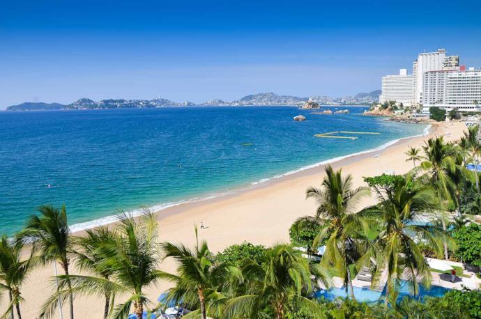 Spiaggia di Acapulco, Messico
